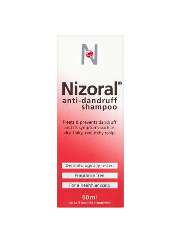 Nizoral Anti-Dandruff Shampoo 60ml