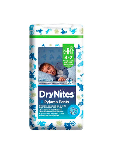DryNites Pyjama Pants 4-7 years Boy (10 Pants)