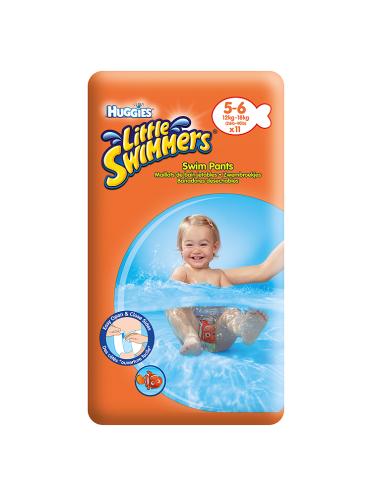 Huggies Little Swimmers Swim Pants Size 5-6 12kg-18kg, 26lb-40lb 11 Pants