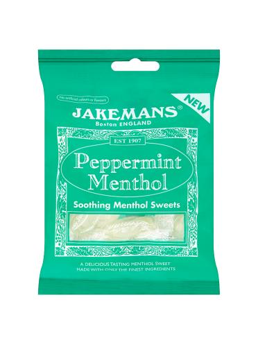 Jakemans Peppermint Menthol 100g