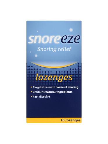 Snoreeze Snoring Relief 16 Lozenges