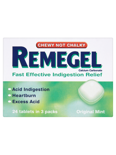 Remegel 24 Tablets Original Mint