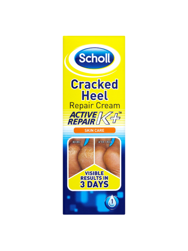 Scholl Skin Care Cracked Heel Repair Cream Active Repair K+ 60ml