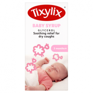 Tixylix Baby Syrup Glycerol 3 Months+ 100ml