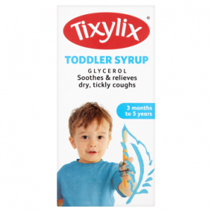 Tixylix Toddler Syrup 3 Months to 5 Years 100ml