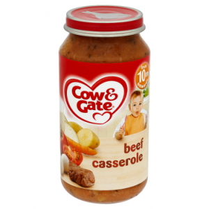 Cow & Gate Beef Casserole from 10m Onwards 250g