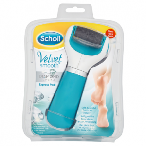 Scholl Velvet Smooth with Diamond Crystals Express Pedi