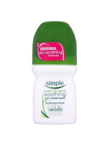 Simple Kind to Skin Soothing Anti-Perspirant 50ml