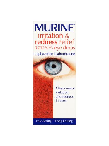 Murine Irritation & Redness Relief Eye Drops Solution 10ml