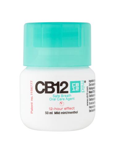 CB12 Safe Breath Oral Care Agent Mild Mint/Menthol 50ml