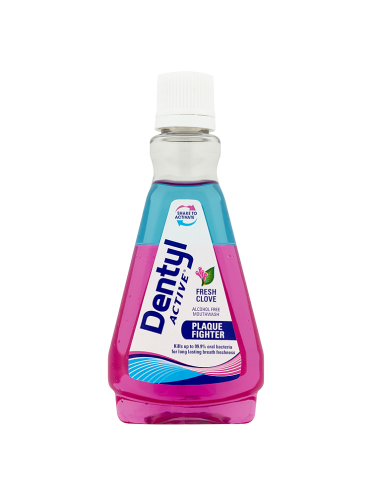 Dentyl Active Plaque Fighter Fresh Clove Mouthwash 100ml