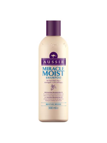 Aussie Shampoo Miracle Moist for dry damaged hair 300ml