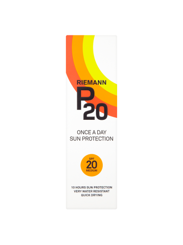 Riemann P20 Once a Day Sun Protection SPF 20 Medium 100ml