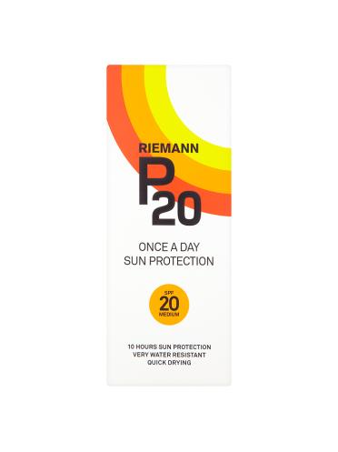 Riemann P20 Once a Day Sun Protection SPF 20 Medium 200ml