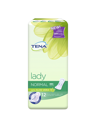 TENA Lady Normal with Aloe Vera 12 Pads