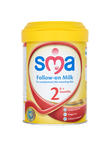SMA Follow-On Milk 6mth+ 900g