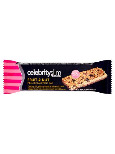 Celebrity Slim Program Fruit & Nut Meal Replacement Bar 55g