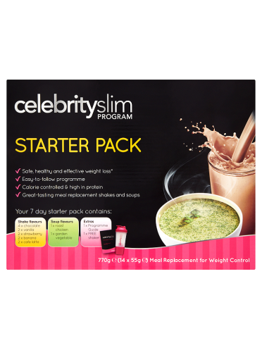 Celebrity Slim Program Starter Pack 14 x 55g (770g)